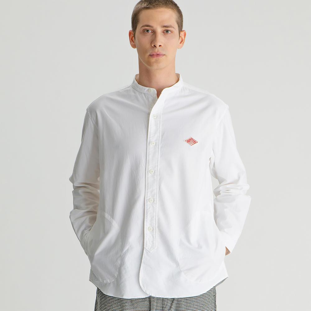 長袖バンドカラーシャツ YOX MEN