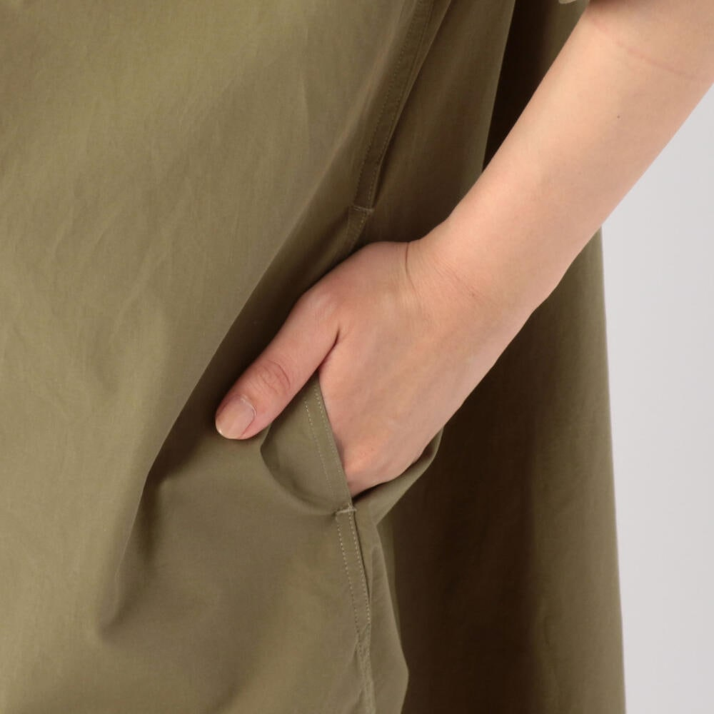 半袖プルオーバーシャツワンピース MSA WOMEN