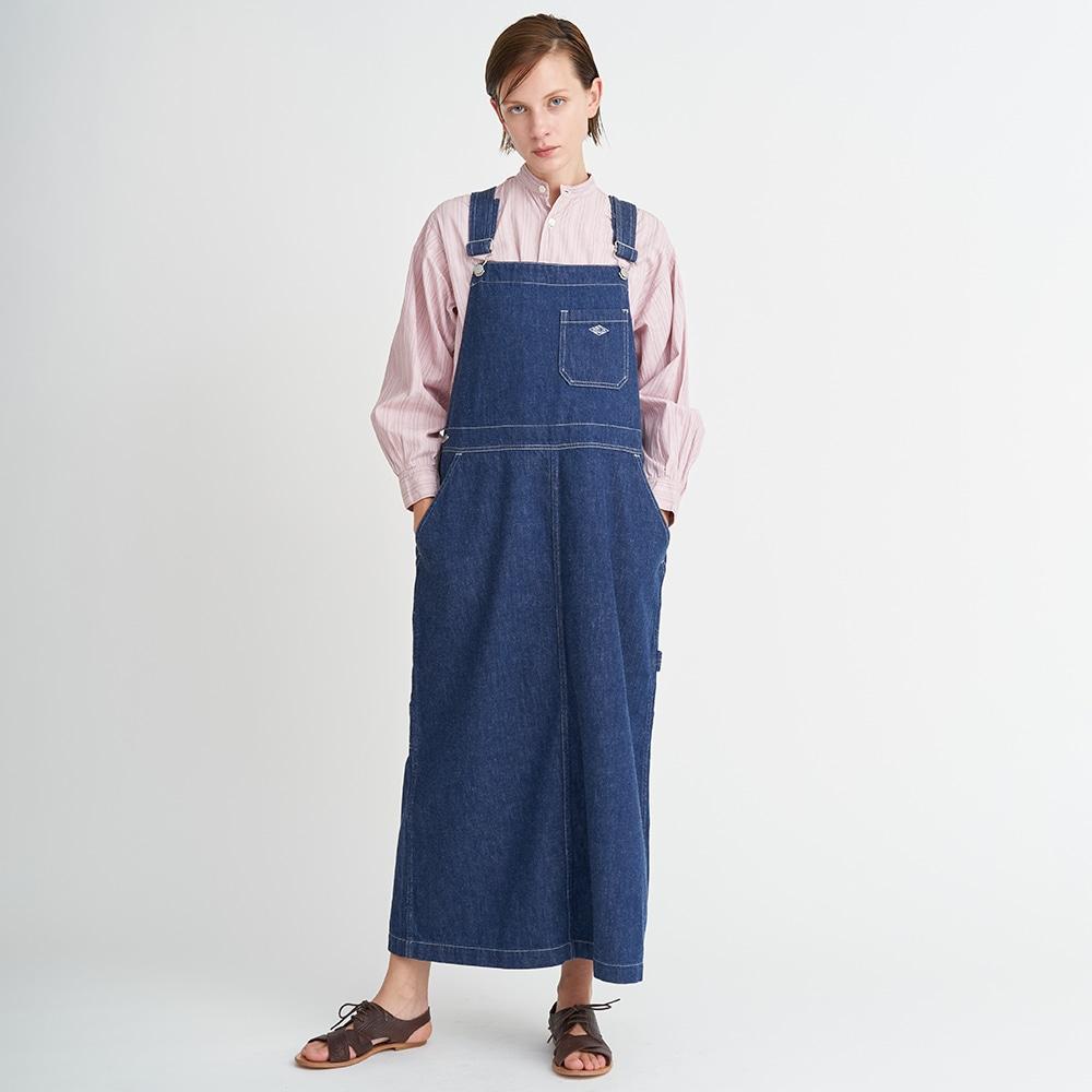 カツラギ サロペットスカート MHT WOMEN