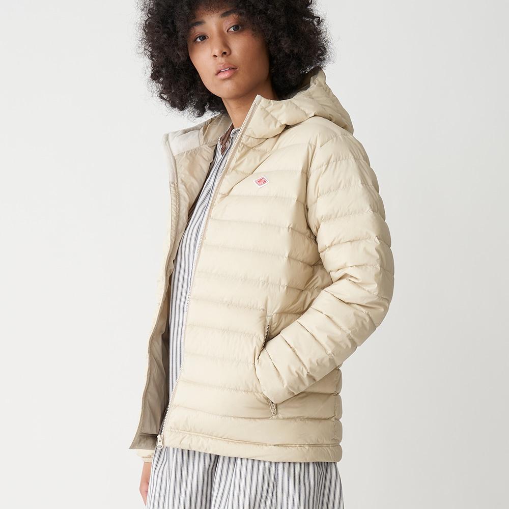 ライトダウンフードジャケット WOMEN
