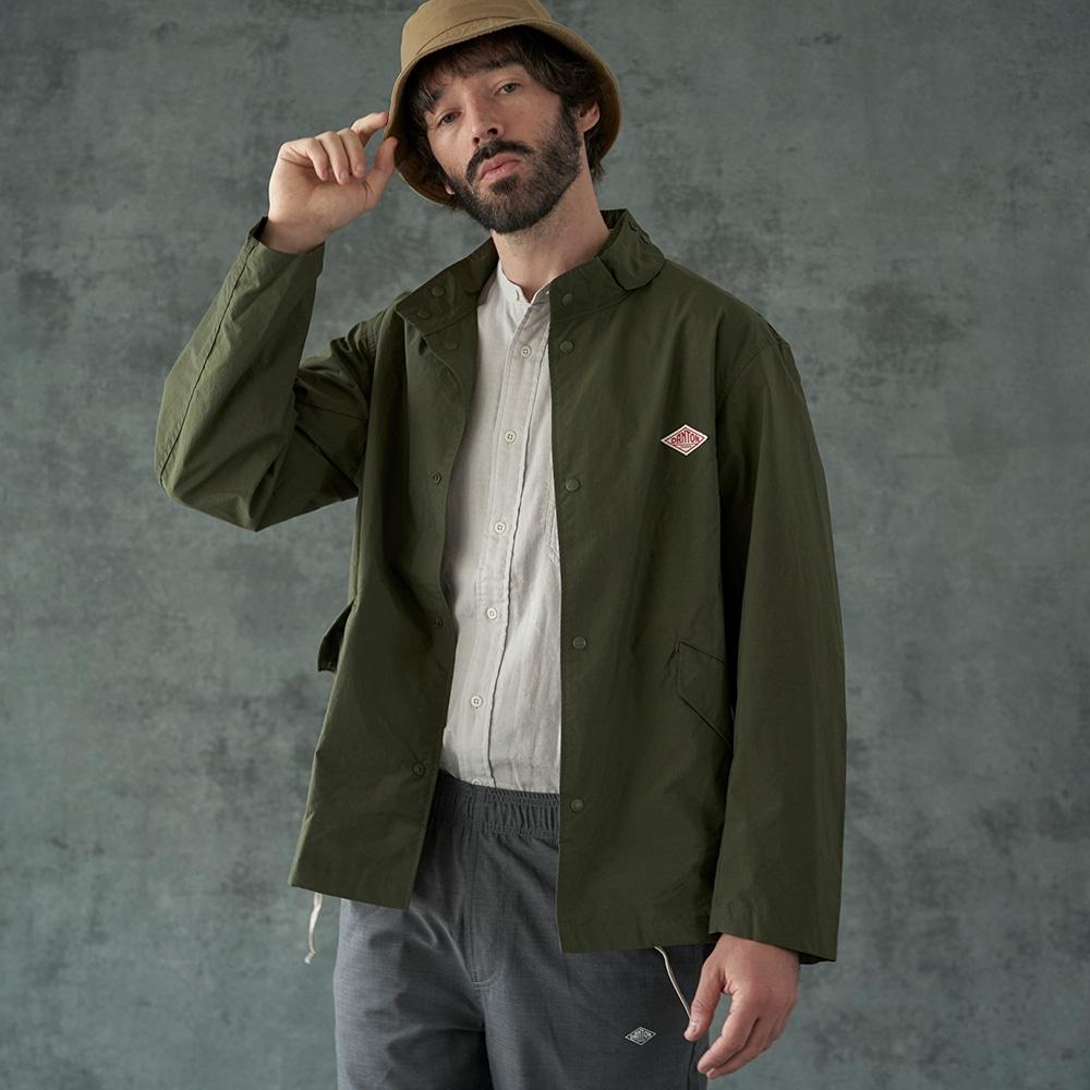 【OUTLET】ナイロンスタンドカラージャケット NTF MEN