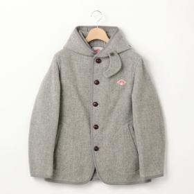 ウールモッサ シングルフードジャケット WOMEN