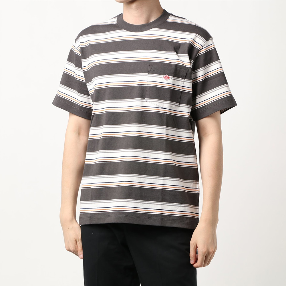 ポケットTシャツ STRIPE MEN