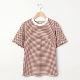 【フェア対象】ポケットTシャツ STRIPE WOMEN