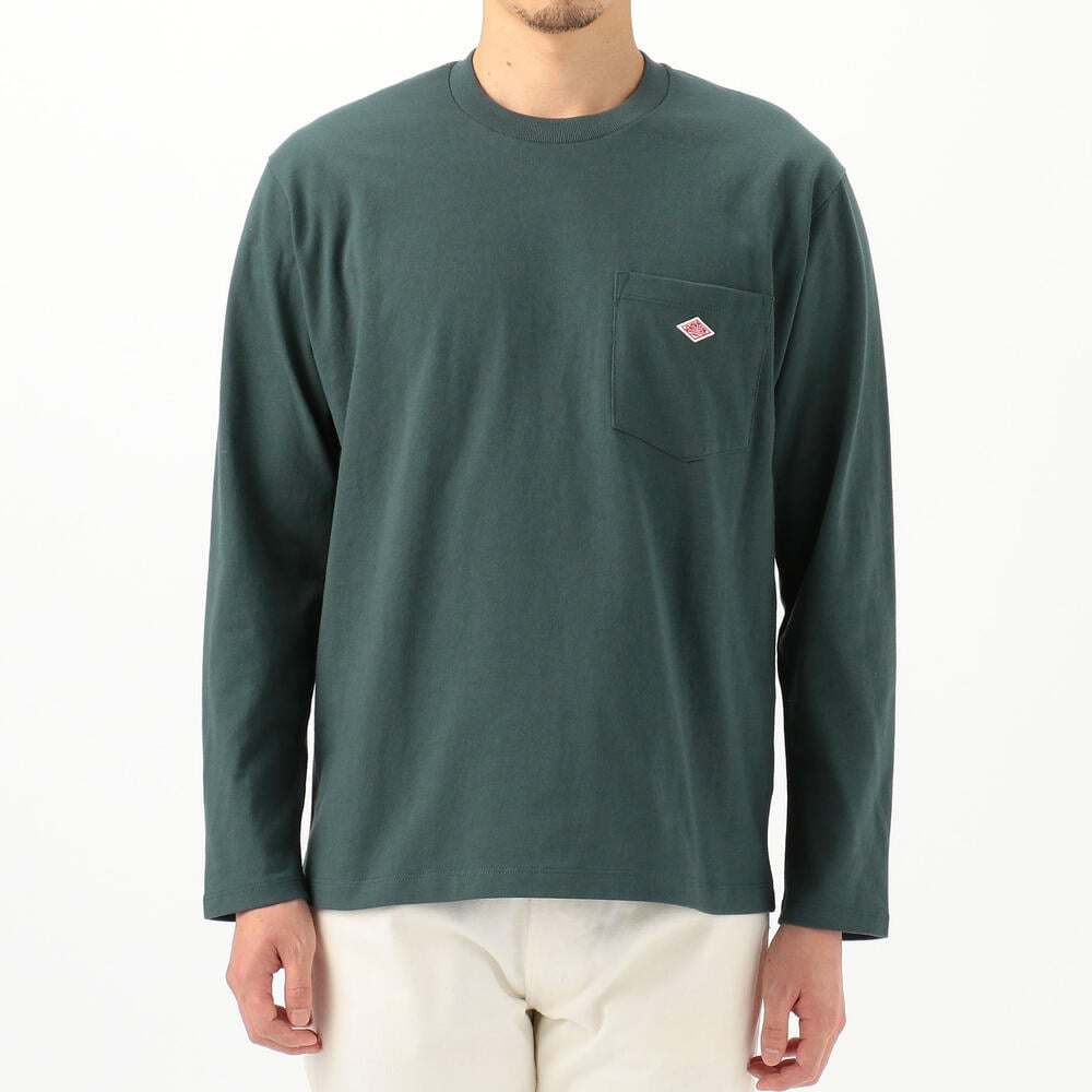 DANTON L/S POCKET TEE