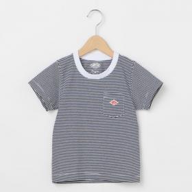 キッズ ポケットTシャツ STRIPE