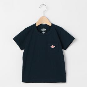 キッズ ポケットTシャツ SOLID