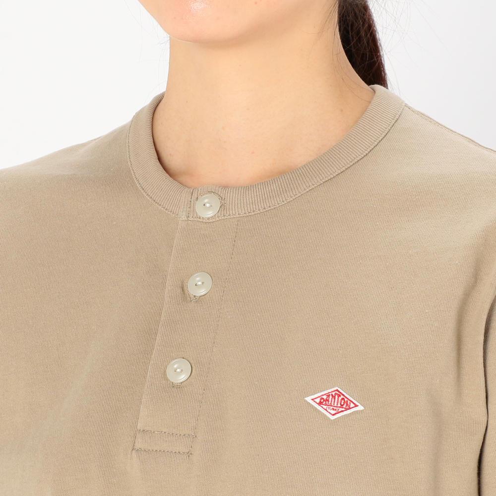 ヘンリーネックTシャツ WOMEN