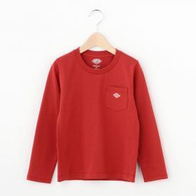 【フェア対象】キッズ 長袖ポケットTシャツ