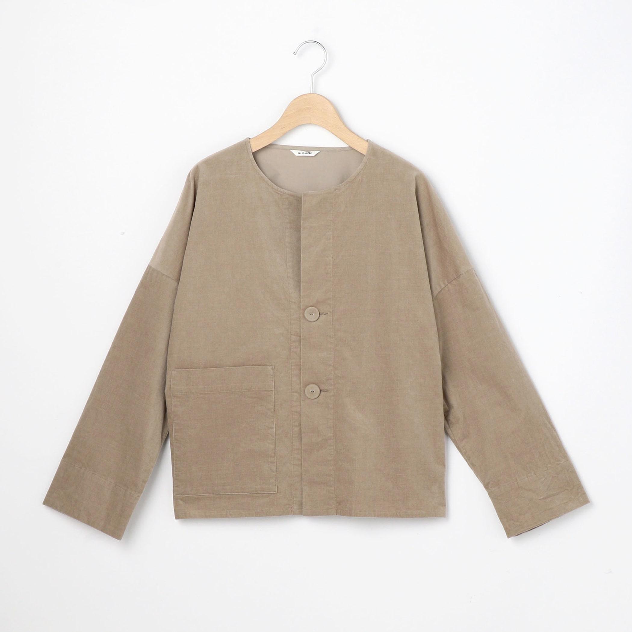 コーデュロイ シャツジャケット WOMEN