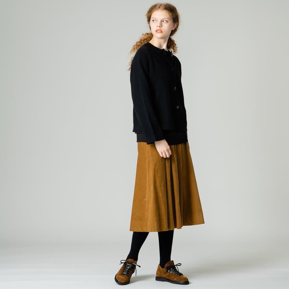 コーデュロイ ギャザースカート WOMEN