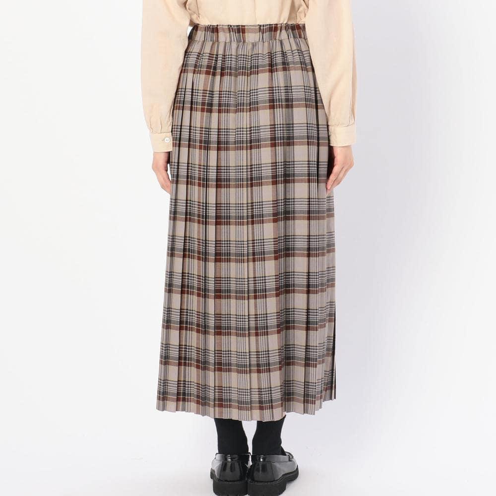 タックギャザープリーツスカート YUN WOMEN