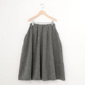 ヘリンボーンフレアースカート WOMEN