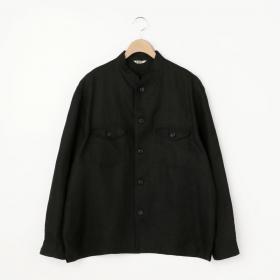 リネンツイル シャツジャケット MEN