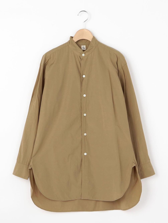 【OUTLET】フィンクスウェザー スタンドカラーシャツ WOMEN