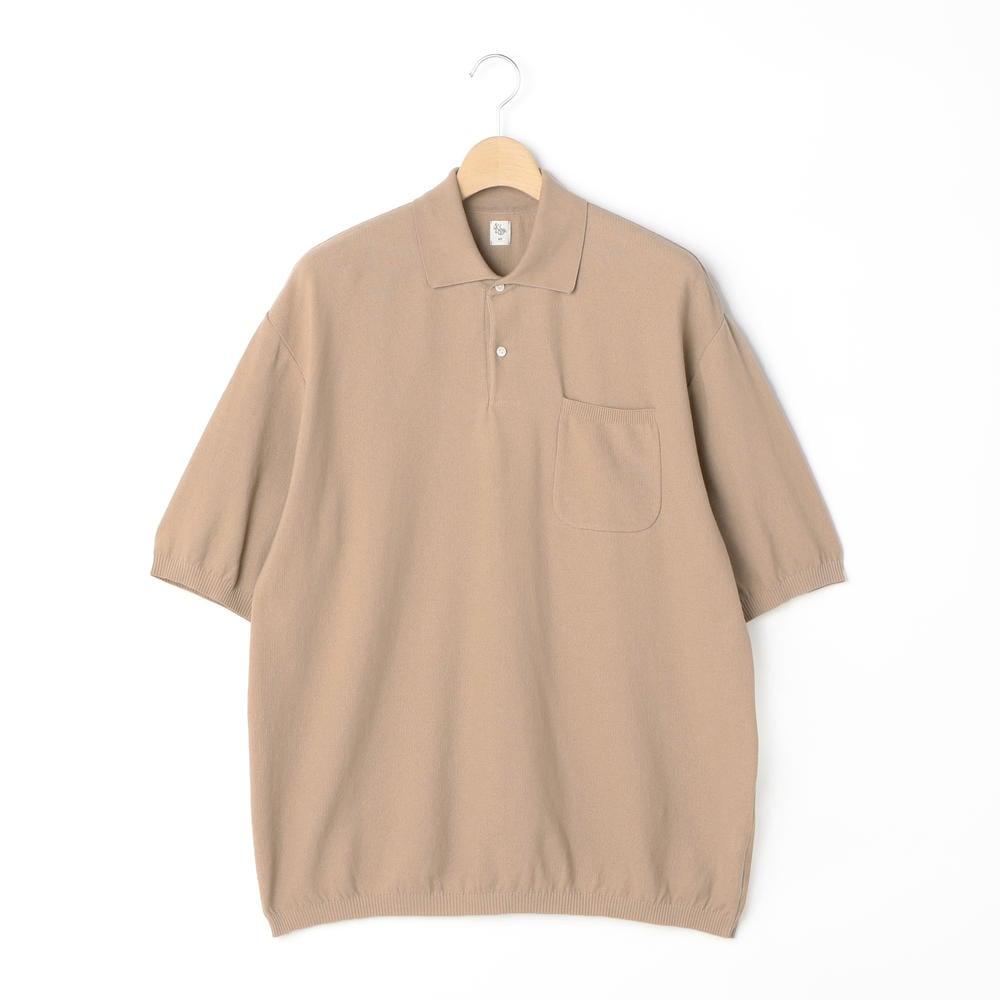 【OUTLET】ポロカラーニットシャツ MEN