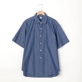 半袖レギュラーカラーシャツ MEN