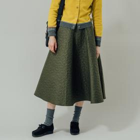 キルティング フレアスカート WOMEN
