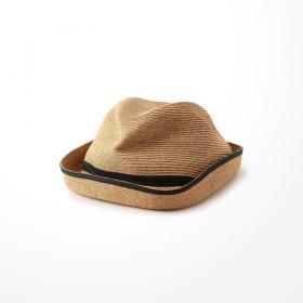 Boxed Hat 7cm Brim switch color line WOMEN