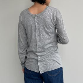 ライトコットン 2WAY長袖Tシャツ WOMEN
