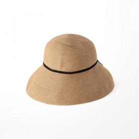 paper braid light hat low wide WOMEN
