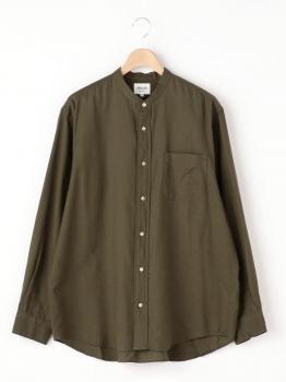 長袖バンドカラーシャツ MEN