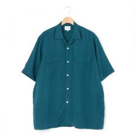 半袖リネンワークシャツ MEN