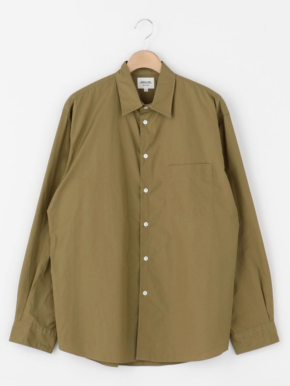【OUTLET】長袖レギュラーカラーシャツ HTY MEN