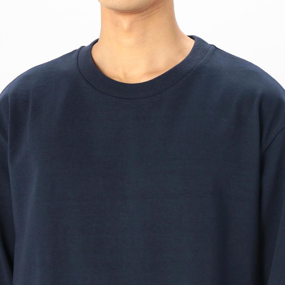 クルーネック 長袖Tシャツ〈MEDIUM/DRY JERSEY〉 MEN