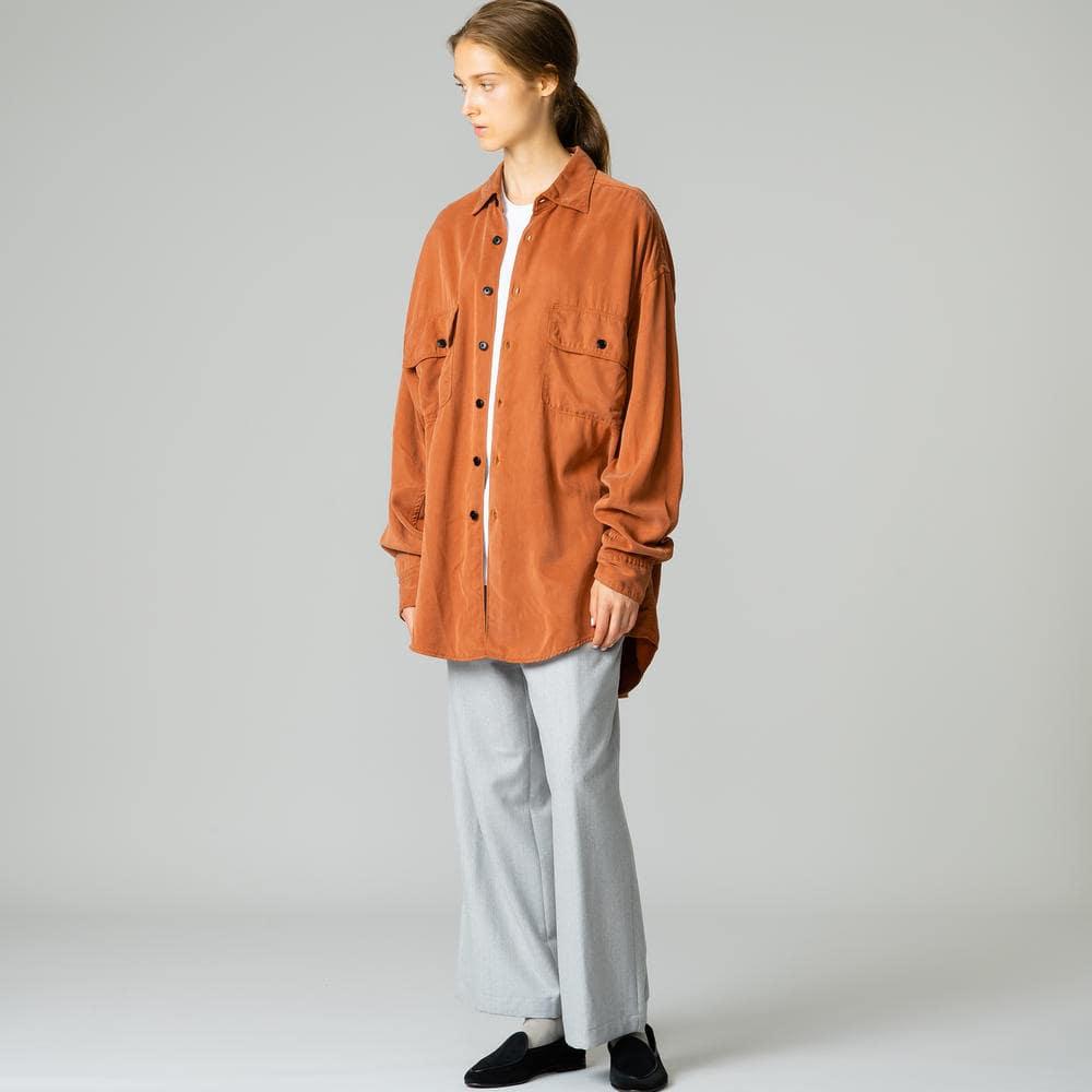 テンセルビッグシャツ WOMEN