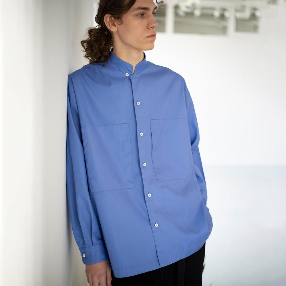 オックスフォード スタンドカラーシャツ MEN