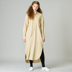 コットンフランネル シャツドレス WOMEN