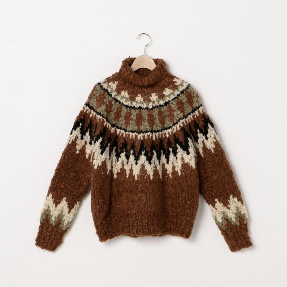 カシミヤハンドニットセーター WOMEN
