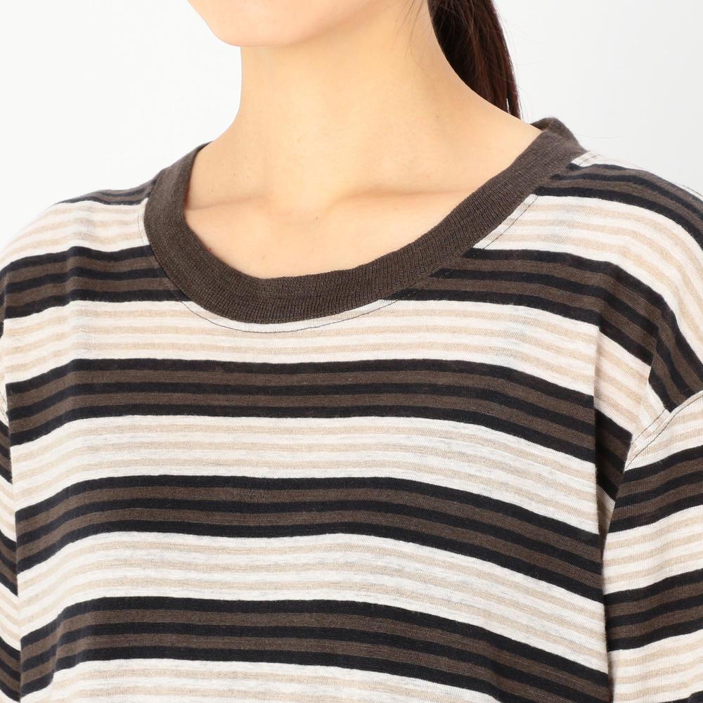 フレンチリネン Tシャツドレス WOMEN