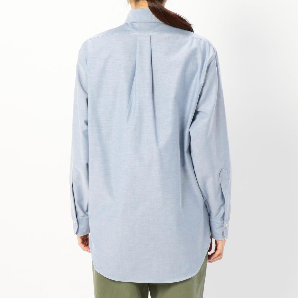 ボタンダウンシャツ BLUE WOMEN