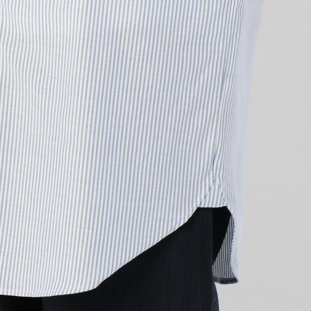 ストライプボタンダウンシャツ WOMEN