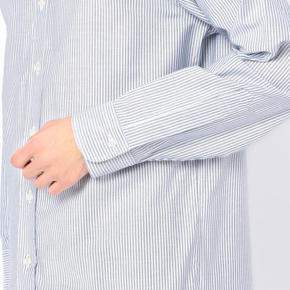 ストライプボタンダウンシャツ MEN