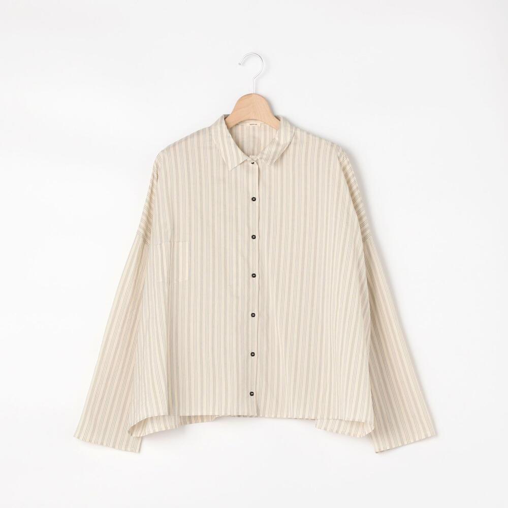ストライプシャツ WOMEN