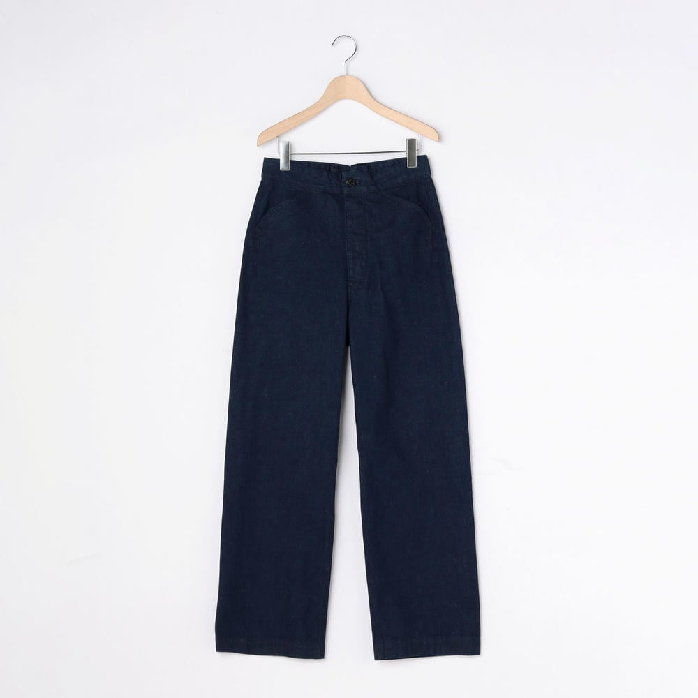 【OUTLET】バックレースアップ デニム WOMEN