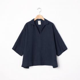スキッパーカラーシャツ WOMEN