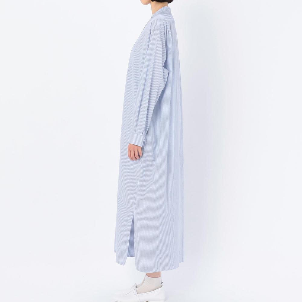 ピンタックプルオーバードレス BLUE WOMEN