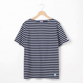 半袖ボートネックTシャツ ST MEN