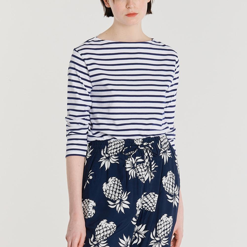 【OUTLET】7分袖ボートネックTシャツ WOMEN