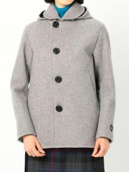 【OUTLET】ジーロンラムメルトン シングルジャケット WOMEN