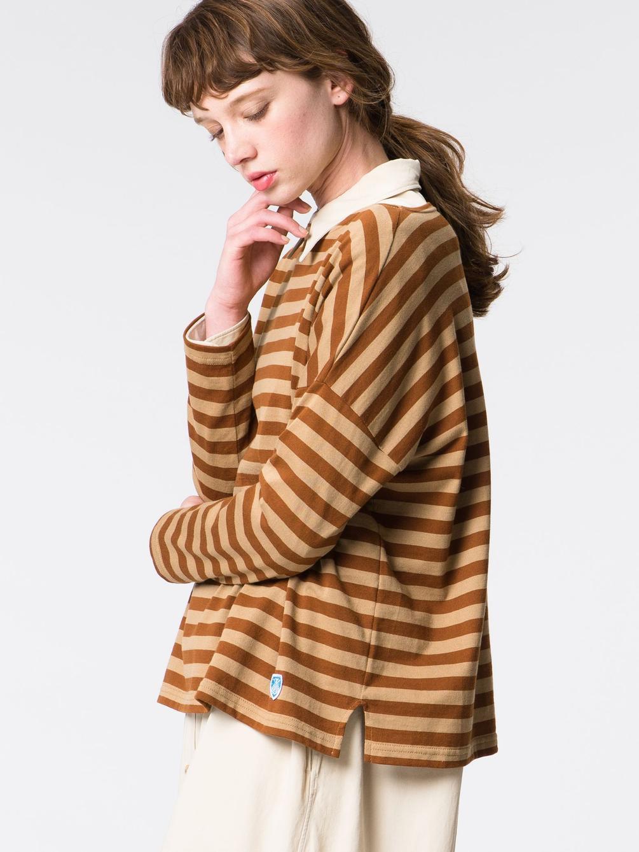 【OUTLET】ルーズボートネックTシャツ WOMEN