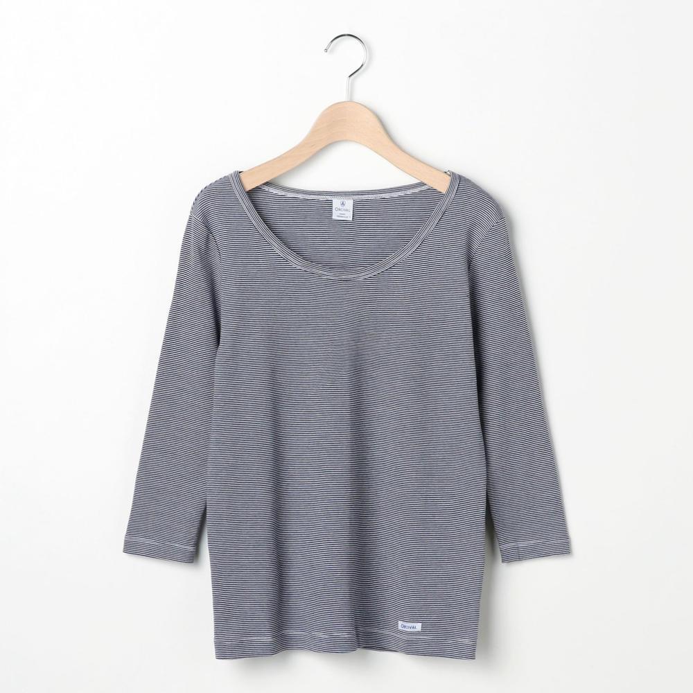 【OUTLET】長袖 ワイドネックTシャツ ST / WOMEN