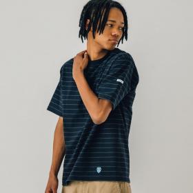 【OUTLET】ポケットTシャツ STRIPE MEN