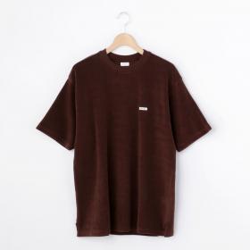 半袖クルーネックパイルTシャツ MEN