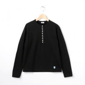 【フェア対象】ヘンリーネックTシャツ WOMEN