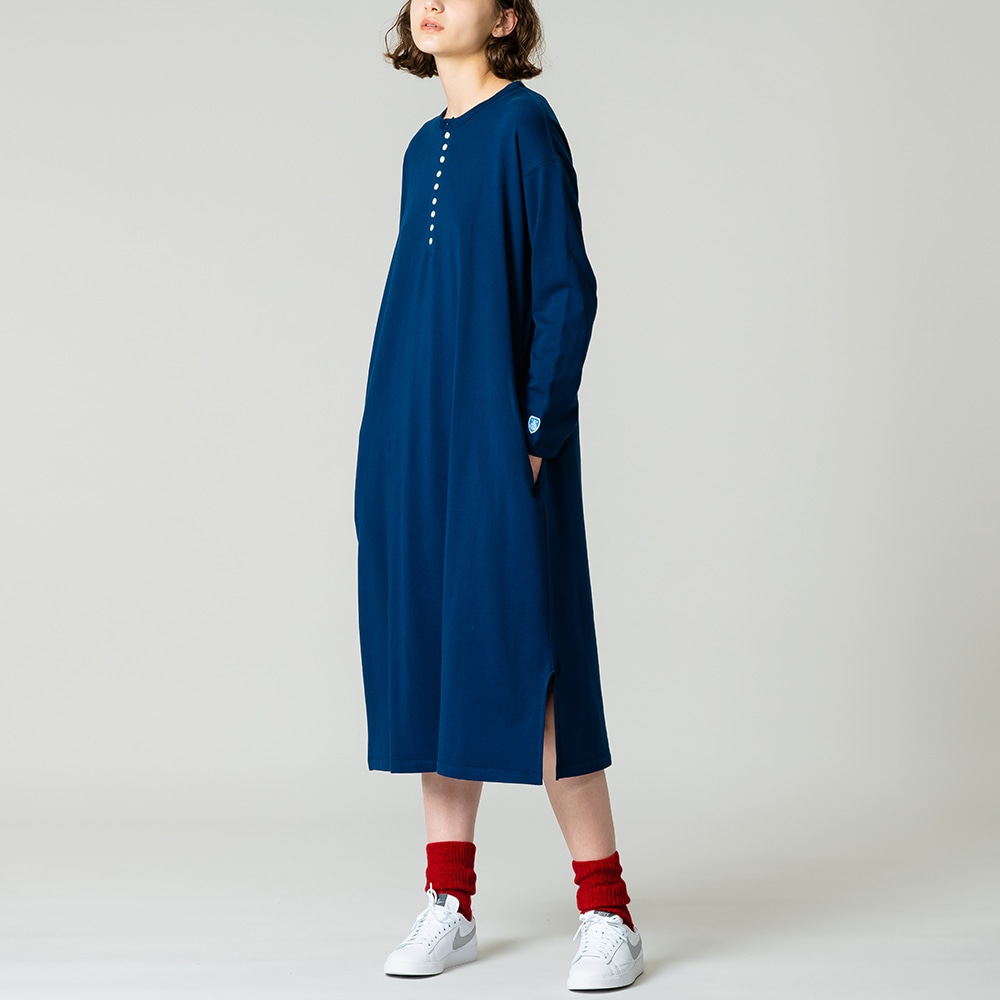 【OUTLET】ヘンリーネックワンピース WOMEN